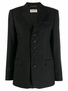 Saint Laurent pinstripe blazer - Black