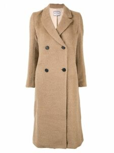 Paul & Joe double-breasted coat - Brown