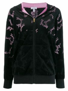 Escada Sport embroidered bomber jacket - Black