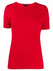 Escada slim fit knitted top - Red
