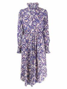 Isabel Marant Étoile patterned Yescott dress - Blue