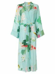Bernadette Peignoir dress - Blue