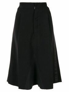 Maison Margiela draped skirt - Black