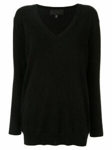 Nili Lotan cashmere V-neck jumper - Black