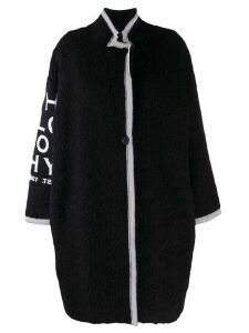 Philosophy Di Lorenzo Serafini raw edge coat - Black
