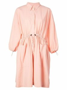 Henrik Vibskov Dusty shirt dress - Pink