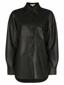 Tibi oversized button-down shirt - Black