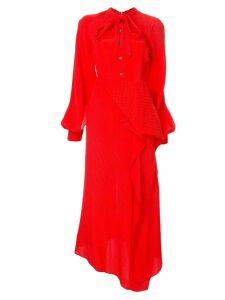Roland Mouret Boscana jacquard dress - Red