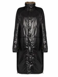 Kassl long puffer coat - Black