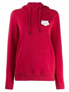 Kenzo tiger patch hoodie - Red