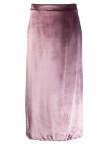 Vince midi slip skirt - Pink