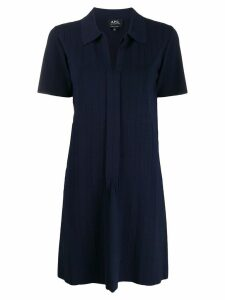 A.P.C. Lee dress - Blue