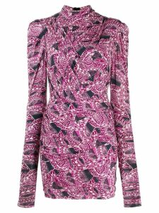 Isabel Marant Jisola fitted dress - Pink