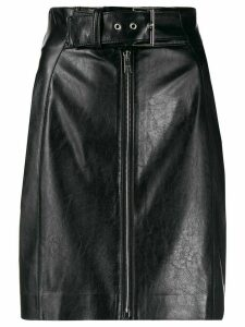 MSGM faux leather skirt - Black