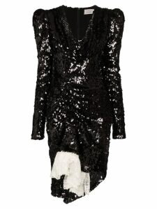 Preen By Thornton Bregazzi Karin sequin embellished dress - Black