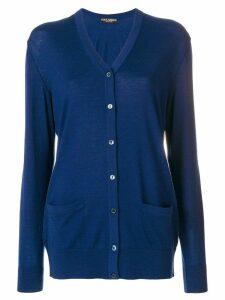 Dolce & Gabbana button-up cardigan - Blue