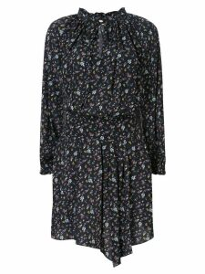 Zadig & Voltaire short floral print dress - Black