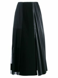 Dorothee Schumacher Modern Gloss patchwork skirt - Black