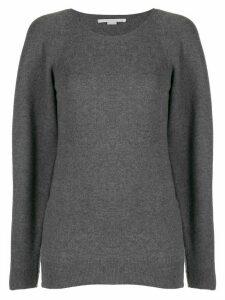 Stella McCartney side-zip jumper - Grey