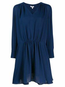 Kenzo gathered waist dress - Blue
