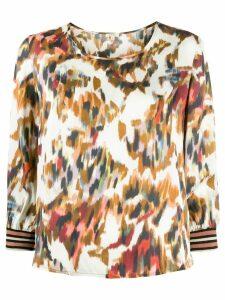 Bellerose digital print blouse - Neutrals