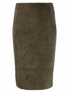 Stouls Gilda pencil skirt - Green