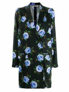 Essentiel Antwerp floral print blazer dress - Black