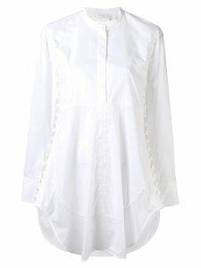 Chloé side button tunic shirt - White