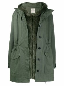 Zadig & Voltaire hooded parka - Green