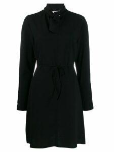 See By Chloé tie-neck shift dress - Black