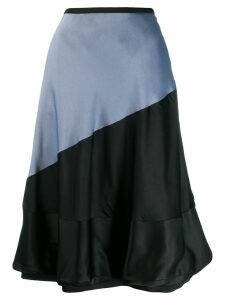 Loewe colour-block balloon skirt - Grey