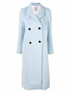 Paul & Joe Messieurs double-breasted coat - Blue