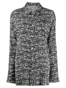 Balenciaga Pyjama Shirt - 1000 Black
