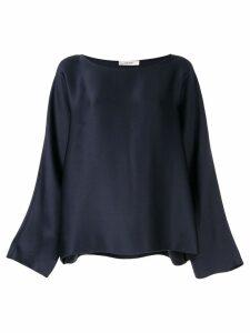 The Row oversized Dylia blouse - Blue