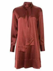 Co tie knot dress - Red
