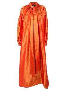 Taller Marmo oversized Sue Me coat - Orange