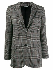 LIU JO checked blazer - Black