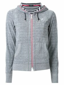 Loveless zipped hoodie - Grey