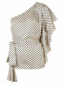 Sachin & Babi Lydia polka dot blouse - Brown