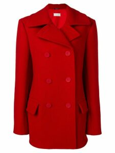 Maison Margiela double breasted coat - Red