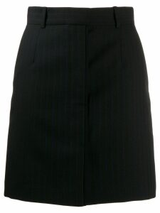 Sandro Paris striped skirt - Black