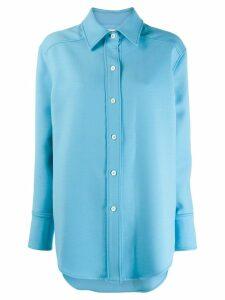 Courrèges loose fit shirt - Blue