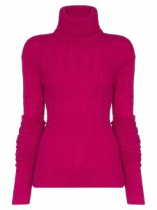 Jacquemus long-sleeve knitted jumper - Pink