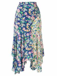 Amur Vicky floral skirt - Blue