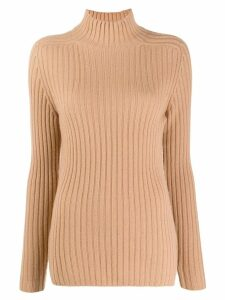 Iris Von Arnim ribbed jumper - Neutrals