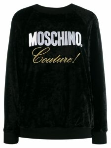 Moschino Couture! logo sweatshirt - Black