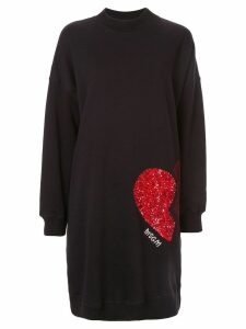 MSGM sequinned dress - Black