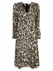 Diane von Furstenberg Viviana midi dress - Black