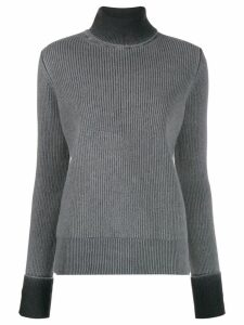 Maison Margiela turtle neck wool sweater - Grey