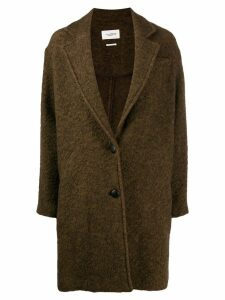 Isabel Marant Étoile Dante single breasted coat - Green